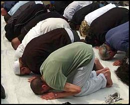 Does our company have to provide us a place to pray