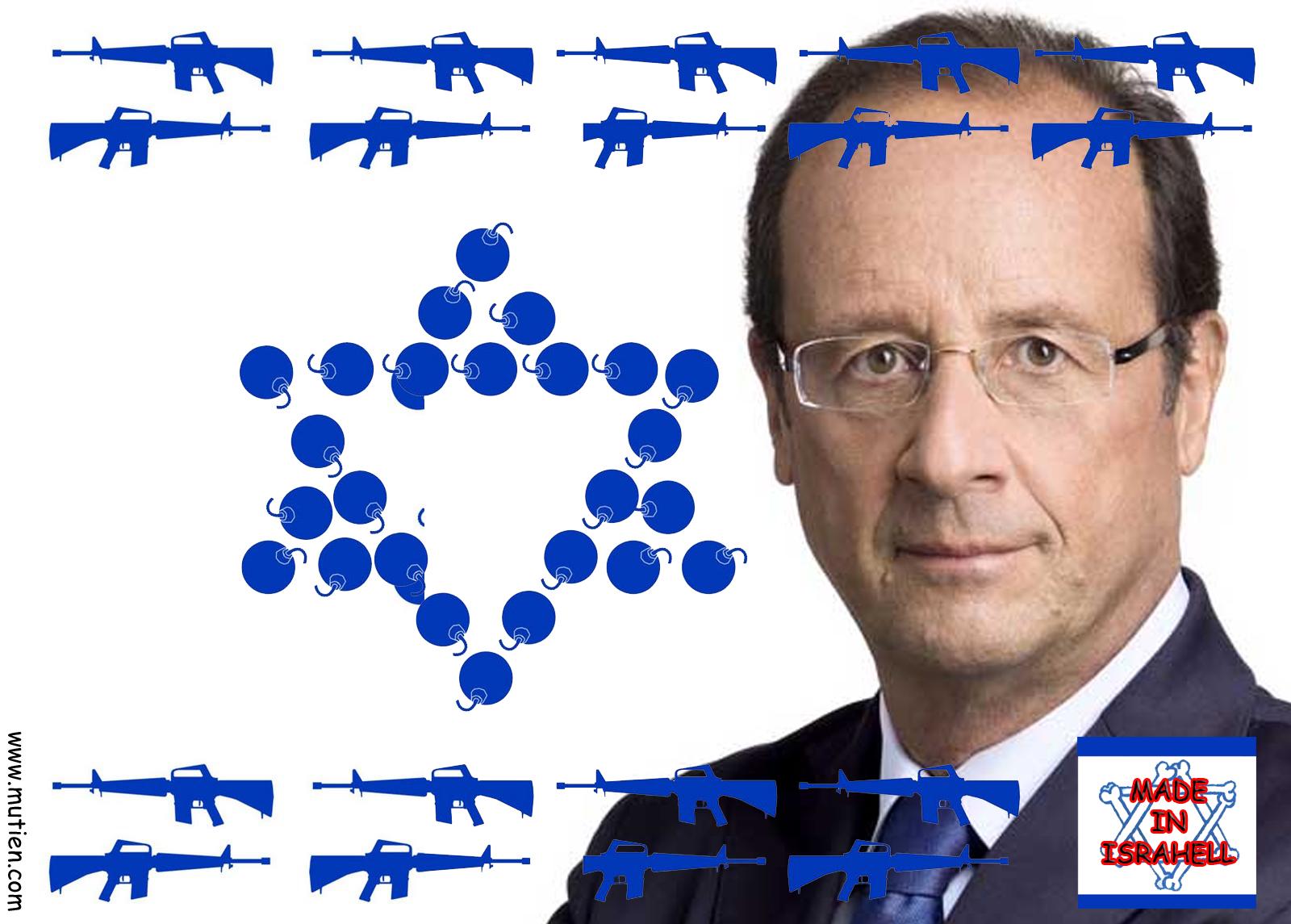 France : terre d' asile et surtout chienne d'Israël !