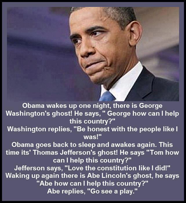 Анекдоты Обаму