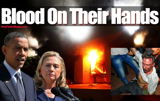 Did Hillary Clinton kill Ambassador Christopher Stevens? Us-embassy-guards-libya-had-no-bullets-in-their-guns-under-order-from-hillary-state-department