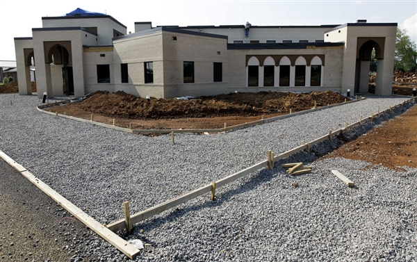 Murfreesboro Monster Mosque under construction now