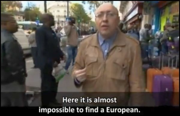 Russian journalist reporting from one of the many NO-GO ZONES in Paris where non-Muslims enter at their own risk