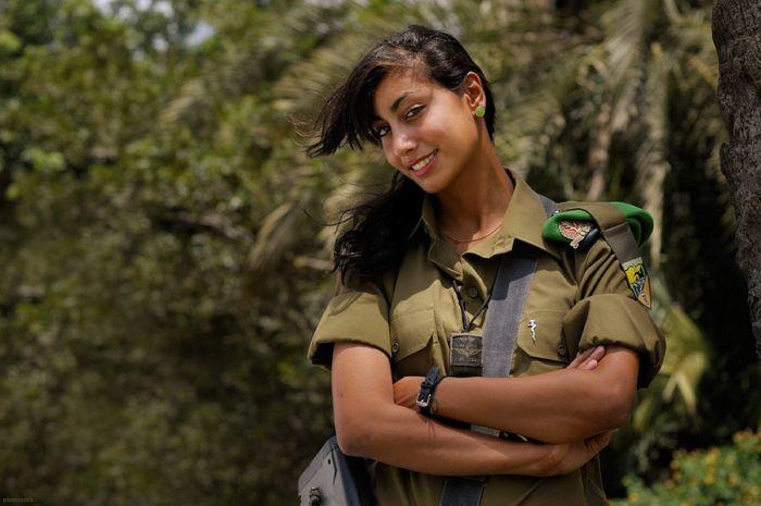 First Arab Woman in IDF