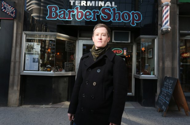 Faith McGregor says she was turned away from Terminal Barbershop on Bay Street because she's a woman.