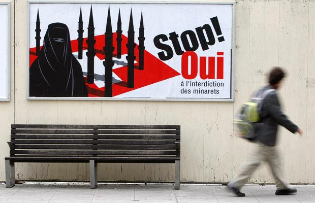 The Swiss successfully voted to ban minarets from mosques, but what they should have banned is all mosques