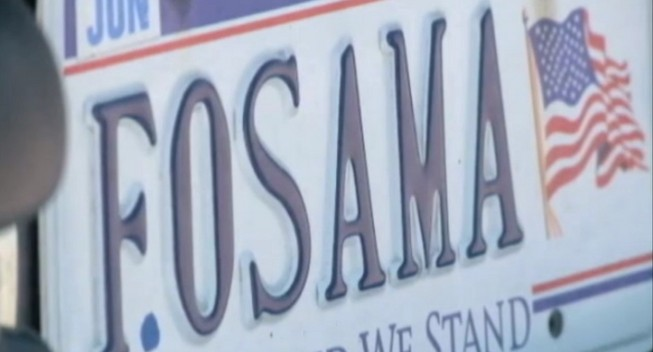 "Virginia's Department of Motor Vehicles has revoked a set of vanity plates that read ""F.OSAMA"" on the basis that they are ""profane, obscene or vulgar in nature.""