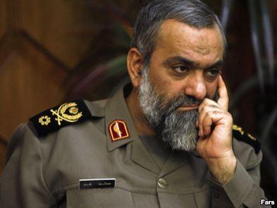 Mohamma Re Naghdi, Commander Iran's Basi Militia