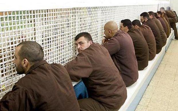 Israel-Palestinian-prisoners-in-Ayalon-prison-in-Ramla