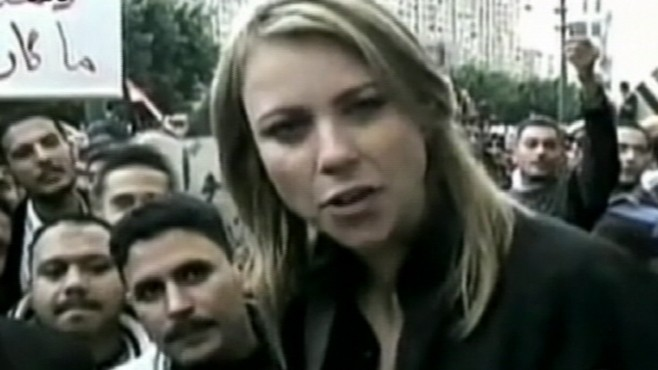 Lara Logan, CBS reporter brutally raped in Tahrir Square last year