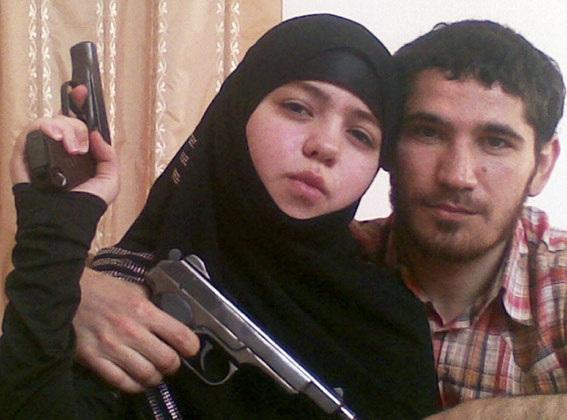 Russian Muslim Suicide Bombette was an infamous headbag wearer