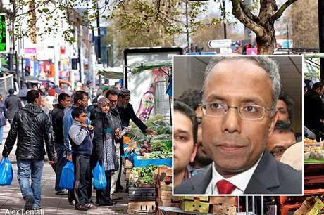 Muslim-dominated Tower Hamlets