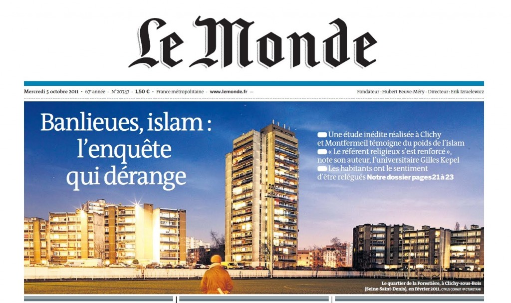 Are the many mosques contributing to the  Muslim violence that is rampant in the banlieues of France? Despite hundreds of millions of euros invested in urban renovation to destroy the oldest tower blocks and rebuild entire districts, crime in the area is off the charts. The area is a festering sore, Illustrated for years by a very high unemployment, a level of crime with no equivalent in the Ile-de-France [area around Paris] and massive educational failure.