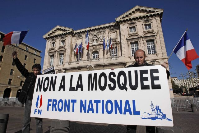 Anti-Muslim immigration party Front National is quickly rising in popularity