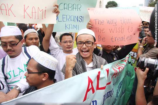 "Malaysian Muslims insist that the word ""Allah"" should be exclusive to them."
