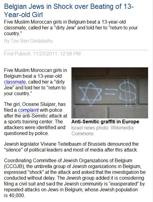 belgian-jews-in-shock-over-beating-of-13-year-old-girl-24.11.2011