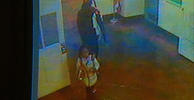 School kidnapping caught on CCTV