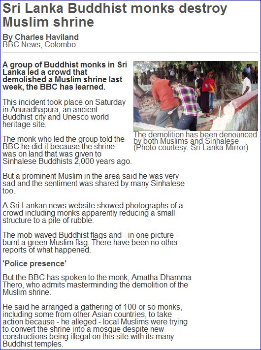 Sri-lankan-buddhists-destroy-muslim-shrine-17.9.2011