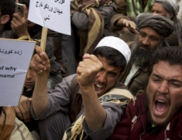 afghans-protest