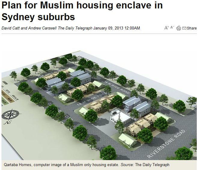 muslim-only-enclave-planned-for-Sydney-suburbs-8.1.2013