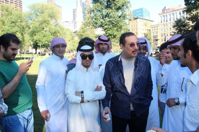 Saudi 'person of interest' with sunglasses and the white schmatta on his head