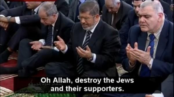 President Morsi of Egypt (Center)