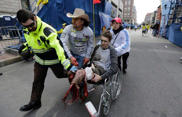 Tsarnaev's handiwork