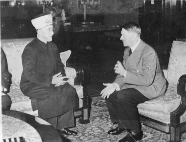 Haj Amin Al Husseini and Adolf Hitler in 1941