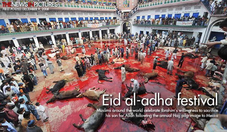 Muslim Eid al-adha festival