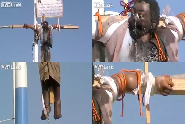 Crucifixion in Yemen