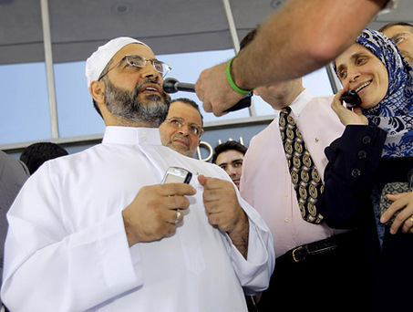 """When serving as U.S. attorney for New Jersey, Christie embraced and kissed Mohammed Qatanani, imam of the Islamic Center of Passaic County, and praised him as """"a man of great goodwill."""" He did this after Qatanani had publicly ranted against Jews and in support of funding Hamas, a U.S. government–designated terror organization, and on the eve of his deportation hearing for hiding an Israeli conviction for membership in Hamas. In addition, Christie designated a top aide, Assistant U.S. Attorney Charles McKenna, to testify as a character witness for Qatanani"""
