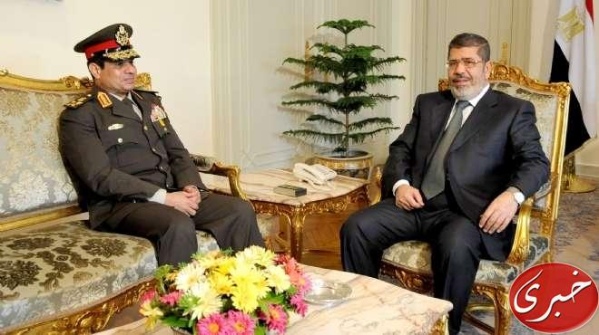 Egyptian Minister of Defense, Lt. Gen. Abdel-Fattah el-Sissi, left, meets with Egyptian President Mohammed Morsi at the presidential headquarters in Cairo, Egypt. Little did Morsi know that his recently appointed Minister would oust him in less than 6 months
