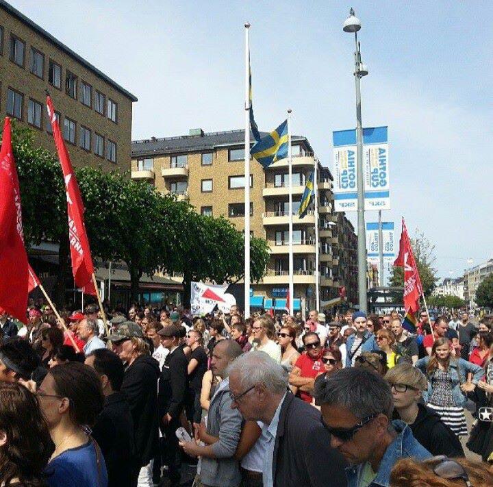 Nätverket-14-juli-counter-demonstration