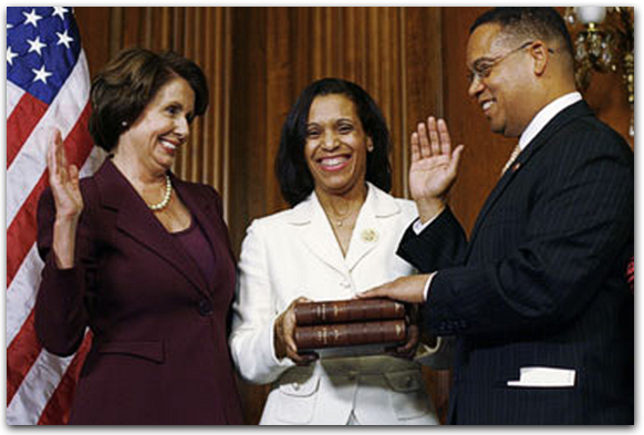 Ellison was sworn into congress on a Quran, which violates virtually everything our Constitution provides