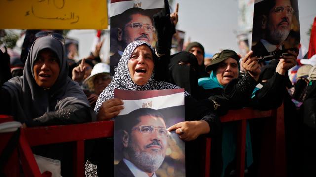 supporters Morsi