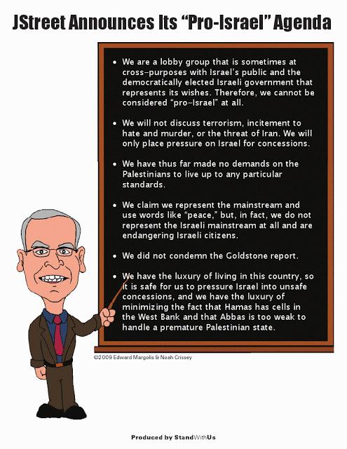 J Street's 'pro-Israel' agenda