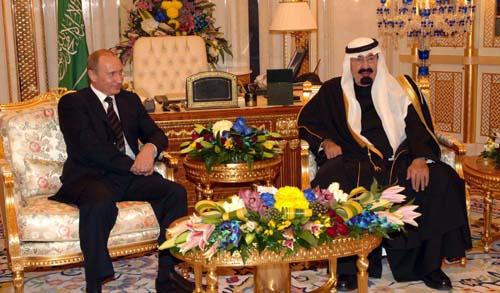 KingAbdullah_Putin_021107 Putin of Russia, King Abdullah of Saudi Arabia, Support the Egyptian Army against Muslim Brotherhood