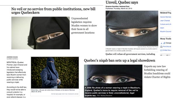 Quebec niqab ban overview