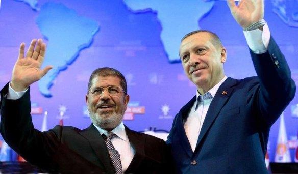EGYPT PM MORSI AND TURKISH OM ERDOGAN
