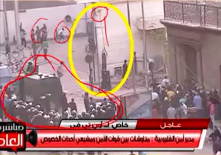 Egypt Black Flag Of Al Qaeda Seen Flying Above Some Churches