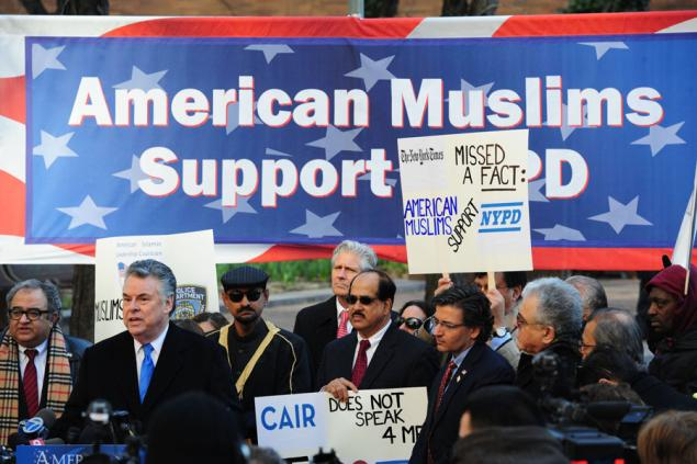 A teeny tiny handful of Muslims DO support the NYPD terrorist surveillance program