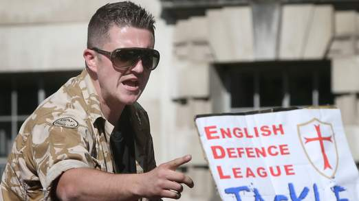 Anti-Fascist And EDL Demonstrations Take Place in London