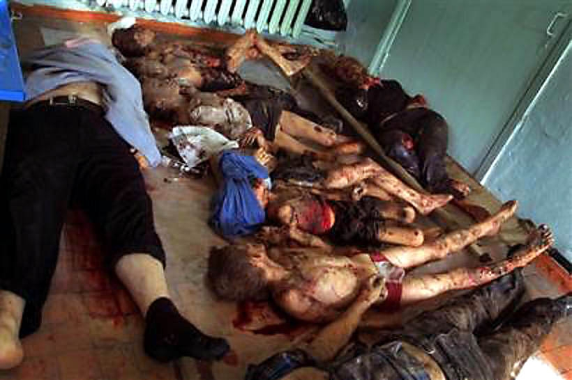 BESLAN children raped and incinerated by Muslims