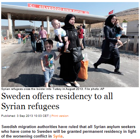 sweden-offers-permanent-residency-to-all-syrian-refugees-starting-today-3.9.2013