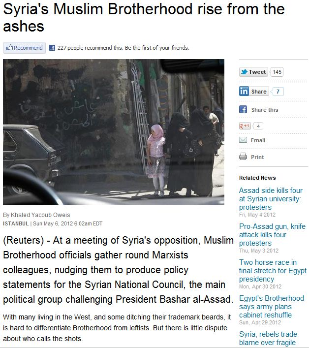 syrian-mb-now-dominent-opposition-force-8.5.2012