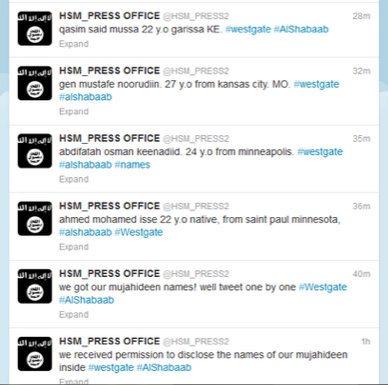 tweet-from-al-shabaab-naming-jihadists-involved-in-kenya-mall-massacre-and-their-origins-09222013