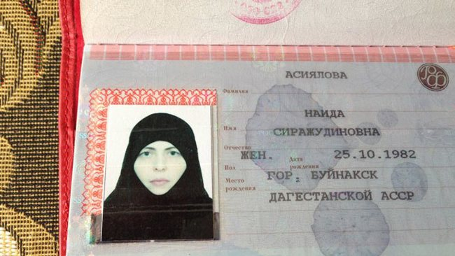 Chechen Muslim woman: Oct 2s, 2013 suicide bomber who killed six people in Volgograd