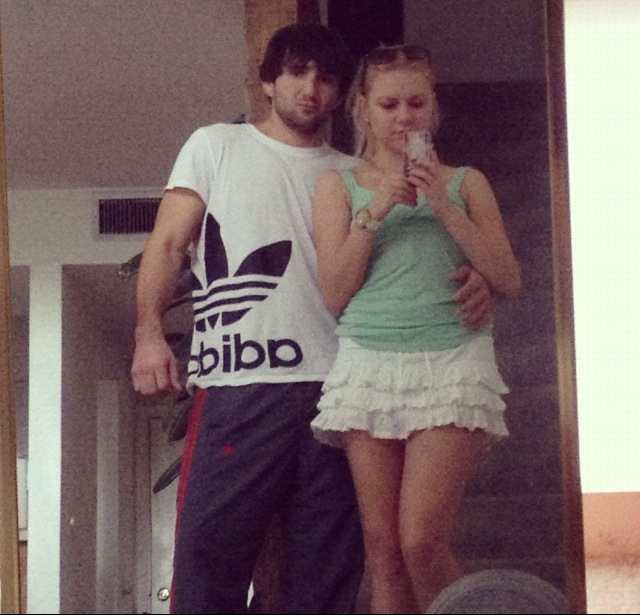 Ibragim Todashev and Tatiana Gruzdeva