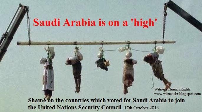 WHR-Apartheid Saudi Arabia beheads five Yemenis and displayed their bodies in public