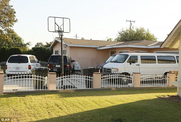 This is the Garden Grove, California, home of the family of Sinh Vinh Ngo Nguyen