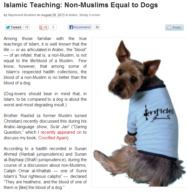 raymond-ibrahim-islamic-teaching-likens-non-muslims-to-dogs-30.8.2013